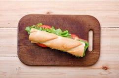 sandwich Nahrung Neues u. gesundes Lebensmittel Konzept Lizenzfreies Stockbild