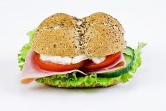 Sandwich nouvellement fabriqué photographie stock libre de droits