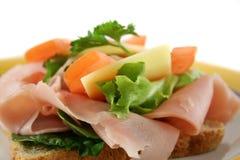 Sandwich ouvert 6 Photos stock