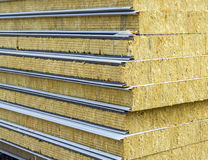 Sandwich panel for wall Royalty Free Stock Photos