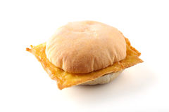 Sandwich with panelle Royalty Free Stock Photography