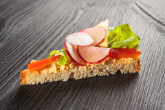Sandwich with pie Stock Photos