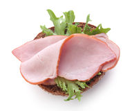 Sandwich with pork loin Stock Photography