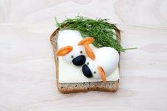 Sandwich pour des enfants Photographie stock libre de droits