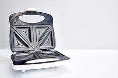 Sandwich Press Maker. A studio photo of a sandwich toastie maker stock images