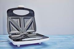 Sandwich Press Maker. A studio photo of a sandwich toastie maker stock photos