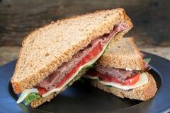 Sandwich Roast Beef Stock Image