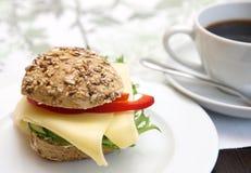 Sandwich-Rolle Lizenzfreies Stockfoto