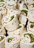 Sandwich Rollups Stock Photography