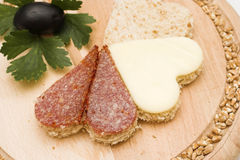 Sandwich sain photo stock