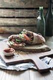 Sandwich sain Image libre de droits