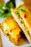 Sandwich saumoné Image libre de droits