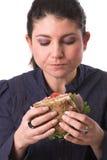 Sandwich savoureux photos stock