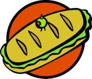 Sandwich secondaire à type Images stock