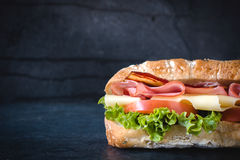 Sandwich snack royalty free stock images