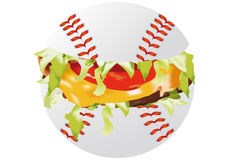Sandwich sports Stock Images
