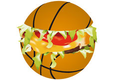 Sandwich sports Royalty Free Stock Photography