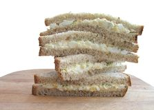 Sandwich stack Royalty Free Stock Image