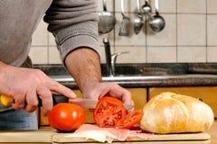 Sandwich stuffed Stock Image