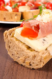 Sandwich time Royalty Free Stock Photography