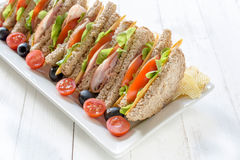 Sandwich time Royalty Free Stock Images