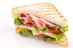 Sandwich toast Royalty Free Stock Images