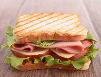 Sandwich toast Stock Image