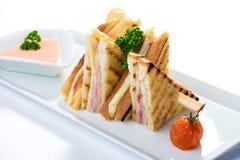 Sandwich toast Stock Photo