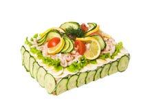 Sandwich-Torte stockbilder