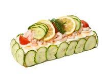 Sandwich-Torte lizenzfreie stockfotografie
