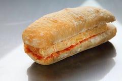Sandwich tortilla Stock Photography