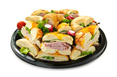 Sandwich tray Royalty Free Stock Image