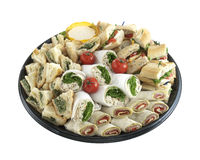 Sandwich tray Royalty Free Stock Photos