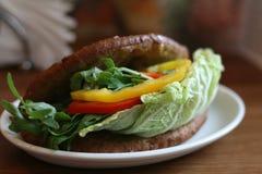 Sandwich végétal Photographie stock