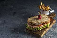 Sandwich végétal Image stock
