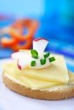 Sandwich végétarien photographie stock