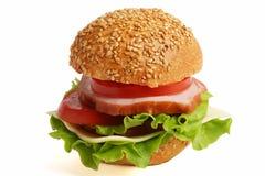 Sandwich. Variant twee. Royalty-vrije Stock Afbeelding