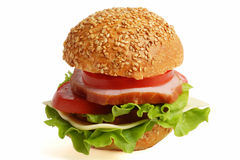 Sandwich. Variant Two. Royalty Free Stock Image