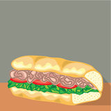 Sandwich Vector Stock Images