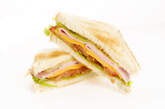Sandwich with vegetables Royalty Free Stock Photos