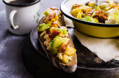 Sandwich with vegetables Royalty Free Stock Photography
