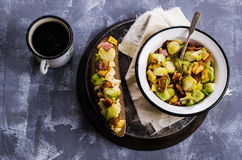 Sandwich with vegetables Stock Photography