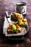 Sandwich with vegetables Royalty Free Stock Images