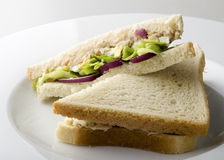 Sandwich for vegetarians Royalty Free Stock Photos