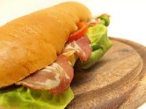 Sandwich - voedsel Royalty-vrije Stock Afbeeldingen