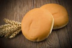 Sandwich voor hamburger Royalty-vrije Stock Foto's