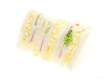 Sandwich in a white background Royalty Free Stock Photography