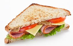 Free Sandwich With Bacon Stock Image - 18777071