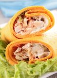 Sandwich wrap Stock Photo