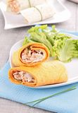 Sandwich wrap Stock Images